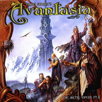 "Avantasia ""The Metal Opera, Pt. 2"" 2002 год"