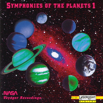 "NASA ""Symphonies Of The Planets 1-5"" 1993 год"