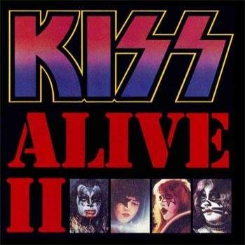 "KISS ""Alive II (Remastered)"" (2CD) 1977 год"