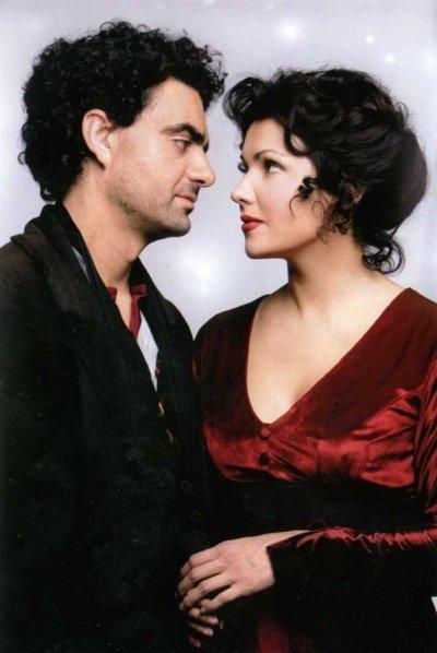 "Анна Нетребко, Rolando Villazon ""La Boheme"" 2009 год"