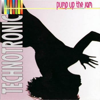"Technotronic ""Pump Up the Jam"" 1989 год"