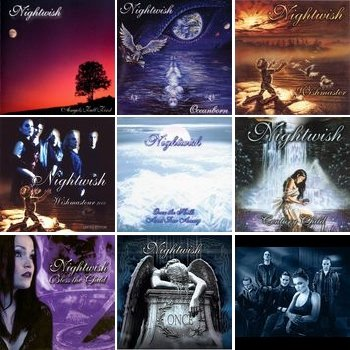 "Nightwish ""Discografy"" 1997-2004 годы"