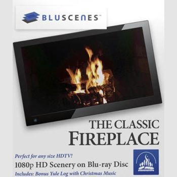 """BluScenes - The Classic Fireplace / Горящий камин"""
